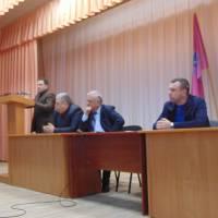 Доповідає заступник голови райдержадміністрації Руслан Каюк