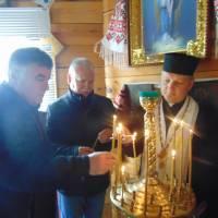 У каплиці Святого Тарасія