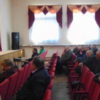 Доповідає начальник Звенигородського об'єднаного управління Пенсійного фонду України у Черкаській області Леся Пона