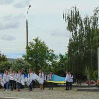 Концертна програма біля памятника Т.Г.Шевченку