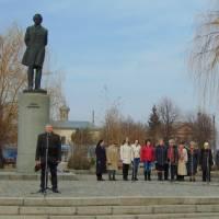 Мітинг-реквієм до 156-ї річниці з дня смерті Т.Г.Шевченка