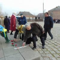 Мітинг-реквієм до 156-ї річниці з дня смерті Т.Г. Шевченка