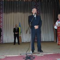 Привітання представника обласної федерації футболу