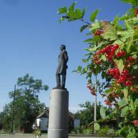 Пам'ятник молодому Шевченку м.Звенигородка