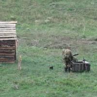 Військова реконструкція останнього бою прикордонників в селі Легедзине 06 08 2018