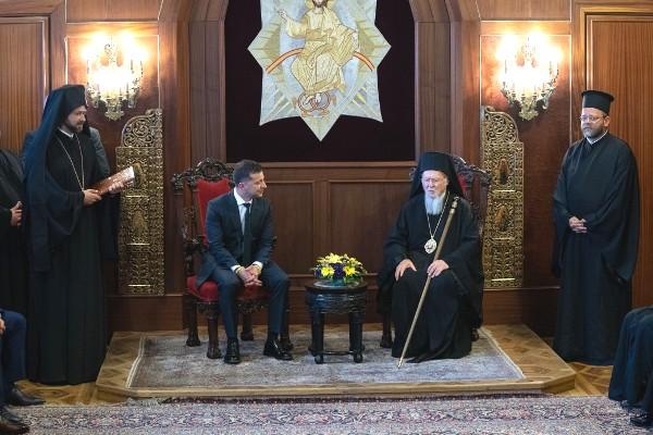 Президент України провів зустріч зі Вселенським Патріархом
