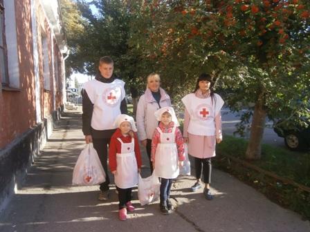 В Україні стартує Всеукраїнська акція «Місяць Червоного Хреста»