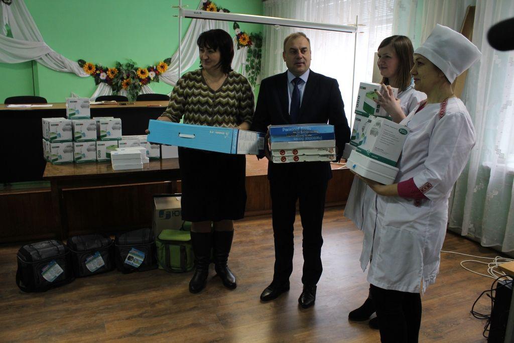 «Центр первинної медико-санітарної допомоги Уманського району» отримав нове обладнання за 50 тисяч гривень