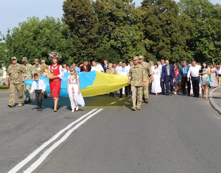 Єдині та згуртовані: Уманщина відзначила 28 річницю незалежності України