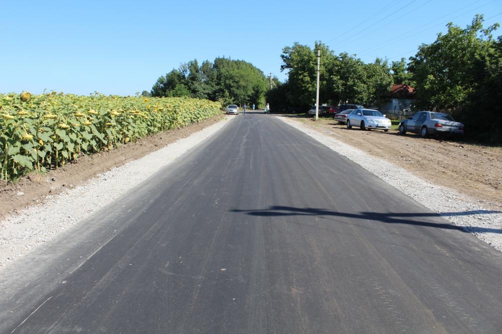 На Уманщині офіційно відкрили нову дорогу між двома селами