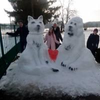 Дружба собаки та кота (с. Дмитрушки)