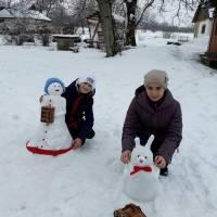 Подарунки від снігурки (с. Полянецьке)