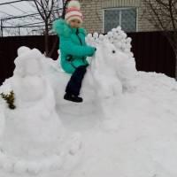 Конкурс снігових скульптур Сніжний сад