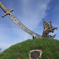 Пам'ятник ураїнській шаблі