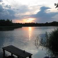с. Жовнине р. Дніпро (Кременчуцьке водосховище)