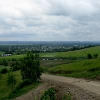 Панорама на Вашківці з Анниної гори
