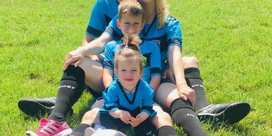 Найфутбольніша сім'я!