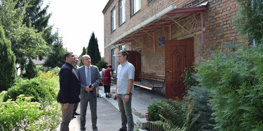 Делегація Представництва ЄС в Україні вперше завітали до міста Гнівань!