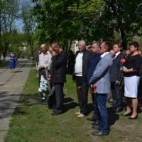 У Чечельнику вшанували чорнобильців