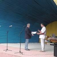 Нагородження голови Шпиківської ОТГ медаллю -Богдана Хмельницького