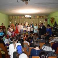 Святкування Нового 2019 року у Шпиківській дитячій музичній школі.