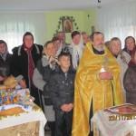 прихожани в молитвиному домі с.Кривохижинці
