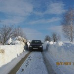 Зимова дорога на Кривохижинці