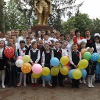 9 Травня 2018 року. Учні та вчителі Іванівської школи-інтернат