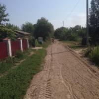 Поточний ремонт місцевих доріг в с.Нова Гребля