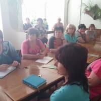 Зустріч освітян з Бершадським об'єднаним управлінням Пенсійного Фонду України