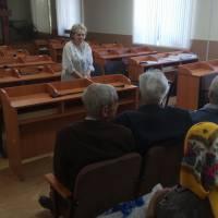 Звітно-виборчі збори первинної ветеранської організації селища Стрижавки.