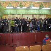Приймали вітання з Днем захисника України