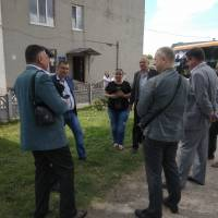 Штабне тренування з органами управління цивільного захисту району