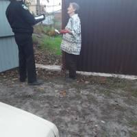Робота муніціпальної поліції зі стихійним спалюванням листя та рослинних залишків