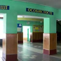 СЗШ І-ІІІ -Гімназія  с.Якушинці вестибюль