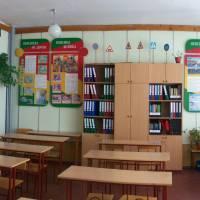 СЗШ І-ІІІ -Гімназія  с.Якушинці навчальний кабінет