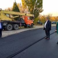 Спорудження дороги в селі Майдан