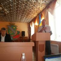 Запрошений керівник спортивної школи висловлює сільському голові Романюку В.С. вдячність за системну підтримку спортивних заходів
