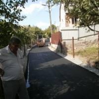 Спорудження дороги в с. Березина та Зарванці