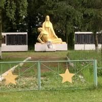 Пам'ятник загиблим у ІІ Світовій війні. с.Майдан
