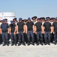 Бійці підрозділу місцевої пожежної охорони