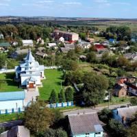 Вид на Свято-Миколаївський храм