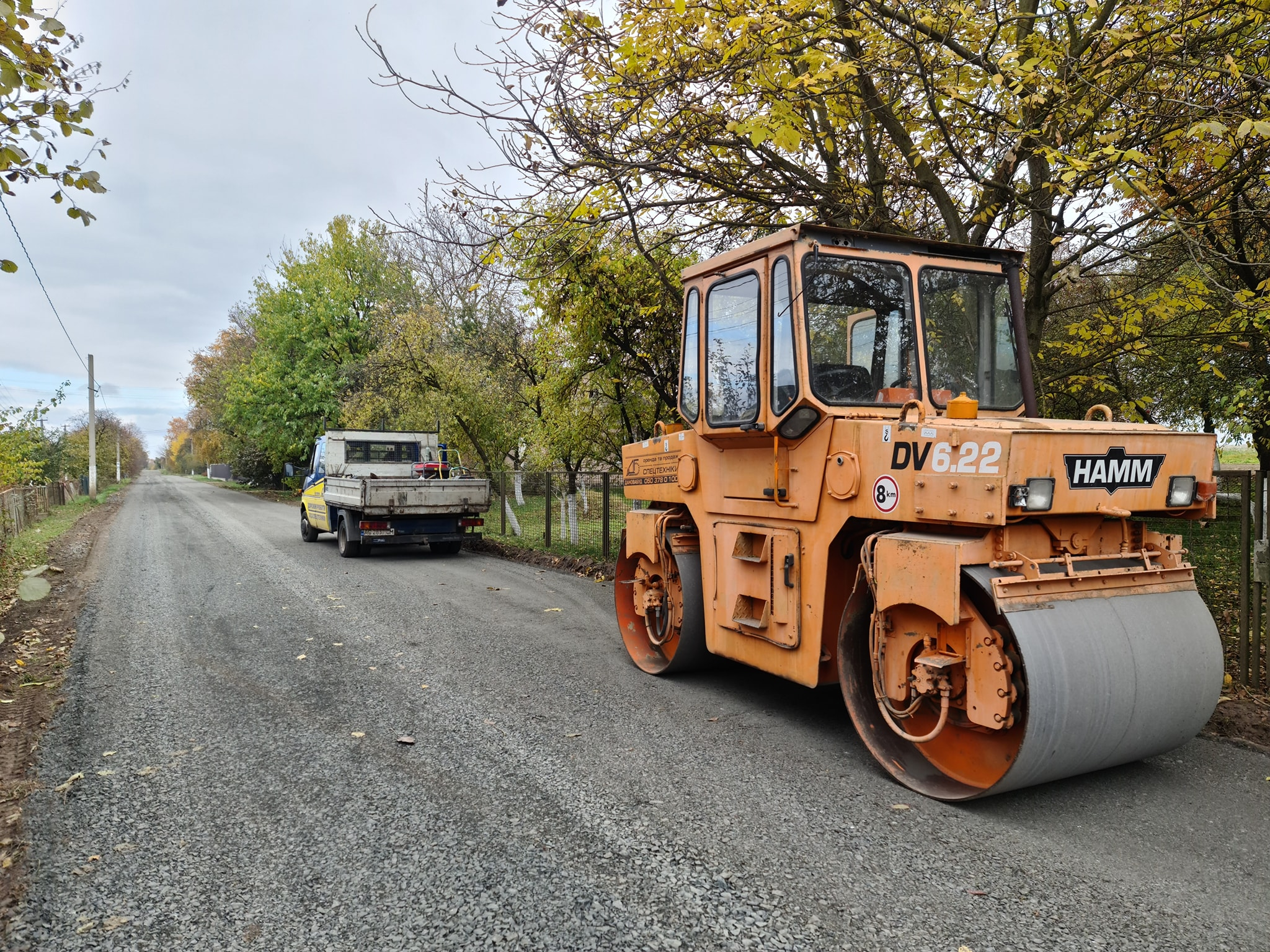 У Піддубцях ремонтують дорогу
