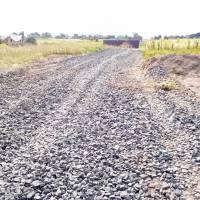 Поточний ремонт вулиці Зеленої в селі Лище