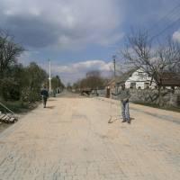 Реконструкція дороги на початку вулиці Підгайцівської в селі Лище