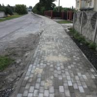 Капітальний ремонт тротуару по вулиці Центральній в селі Лище