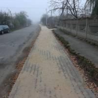 с. Лище тротуар по вул. Молодіжній