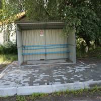 Зупинка на вулиці Миру