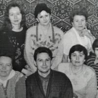 Серед вчителів-філологів Підгайцівської школи, 2000 рік