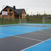 Відкриття мультифункціонального майданчика для занять ігровими видами спорту в селі Крупа, 16.10.2020